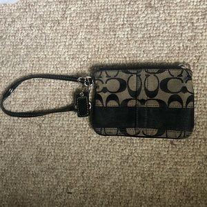 Coach wristlet/ wallet